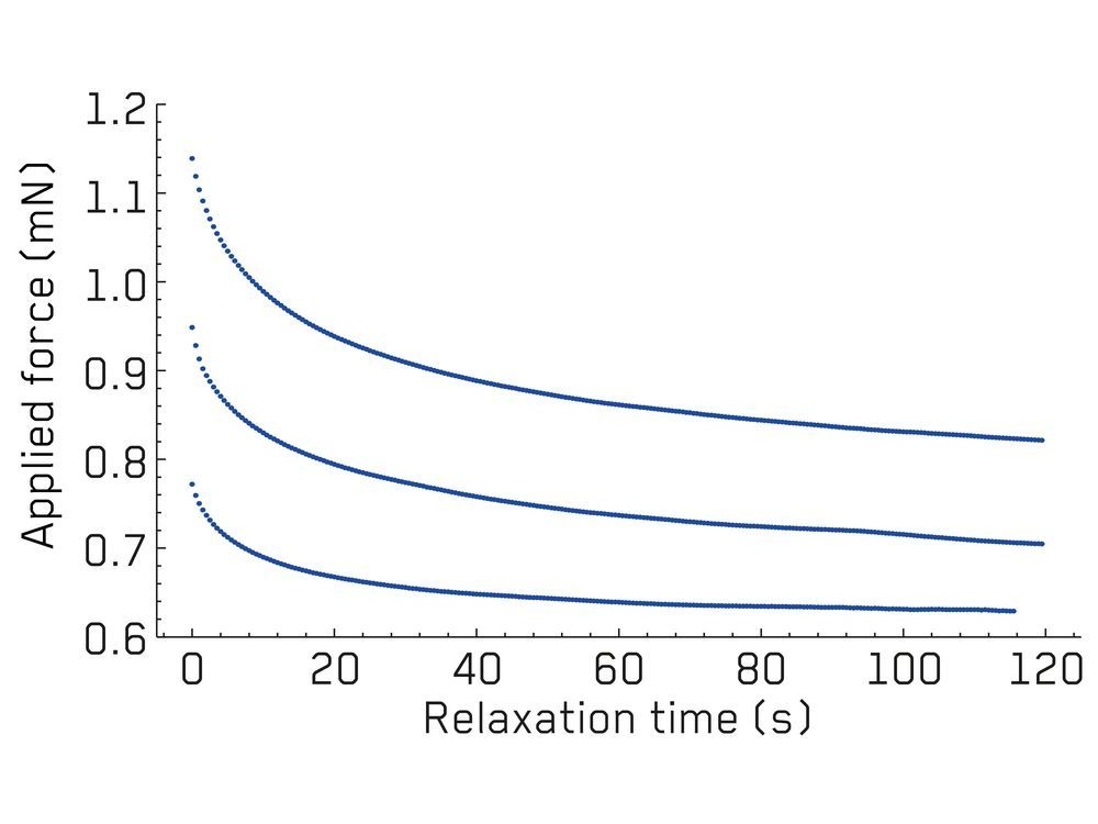 Stress Relaxation Testing of Silica Fibers