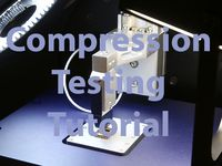 Compression testing tutorial